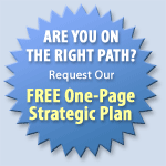 Request our FREE One-Page Stratic Plan